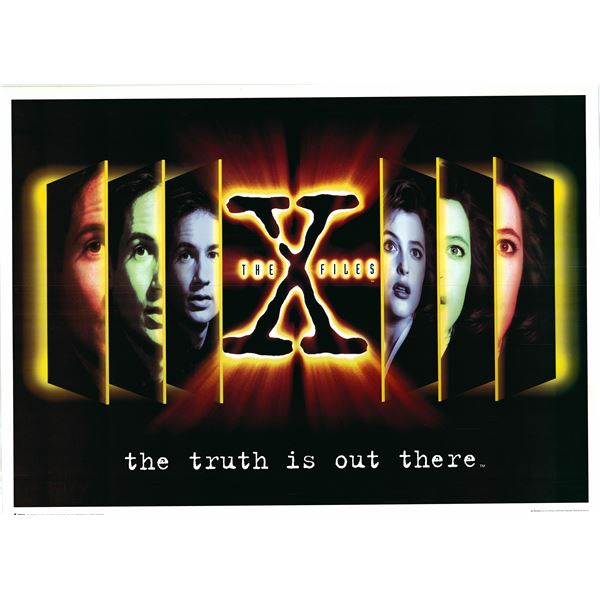 X-Files 1998 The Truth is Out There original poster