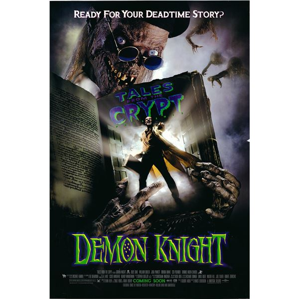 Tales from the Crypt presents: Demon Knight 1994 original advance sheet movie poster