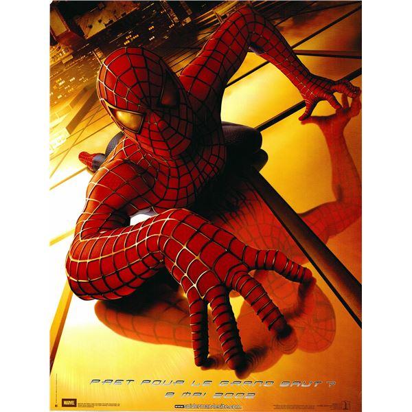 Spider-Man 2001 original French one sheet movie poster