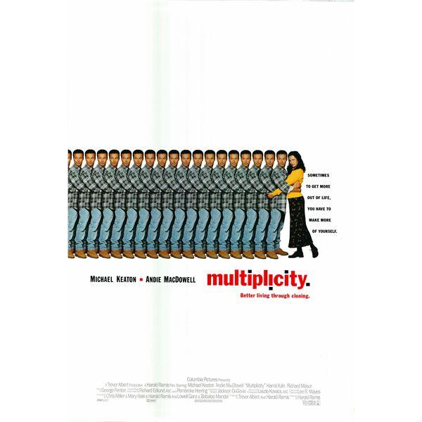 Multiplicity 1996 original movie poster