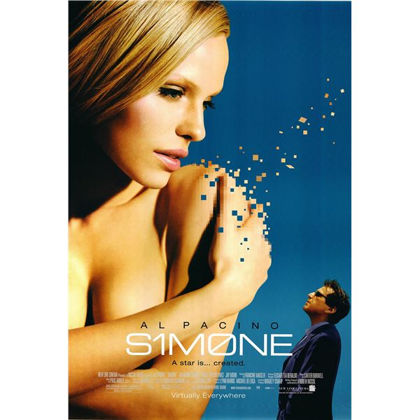 Simone 2002 original one sheet movie poster