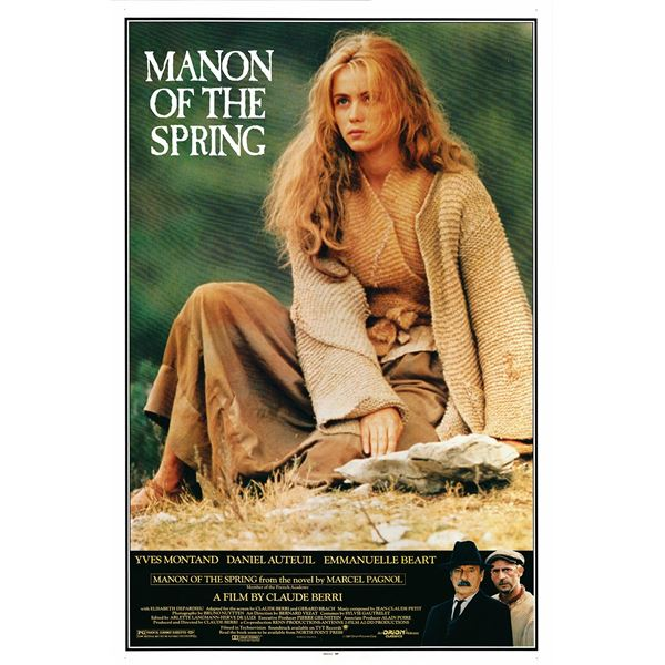 Manon of the Spring 1987 original one sheet movie poster