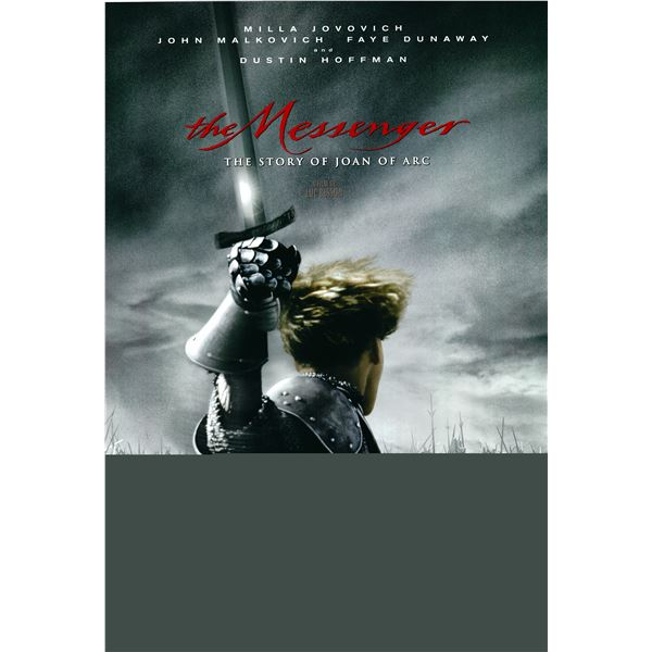 The Messenger: The Story of Joan of Arc 1999 original one sheet poster
