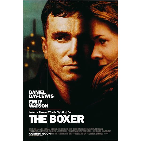 The Boxer 1997 original movie poster