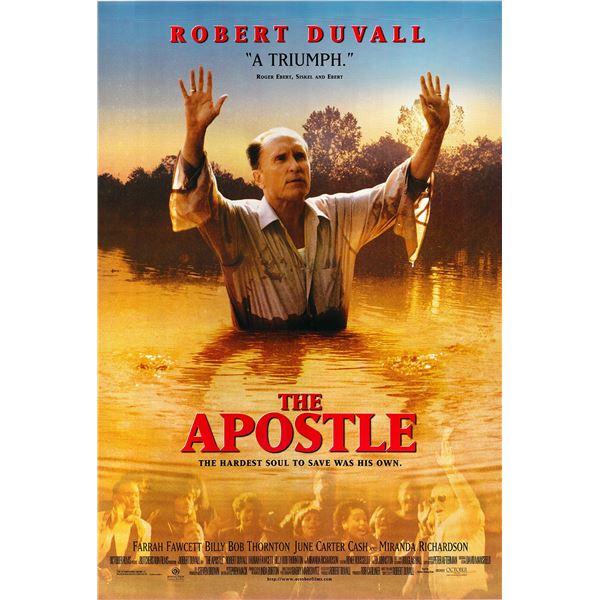 The Apostle 1997 original one sheet movie poster