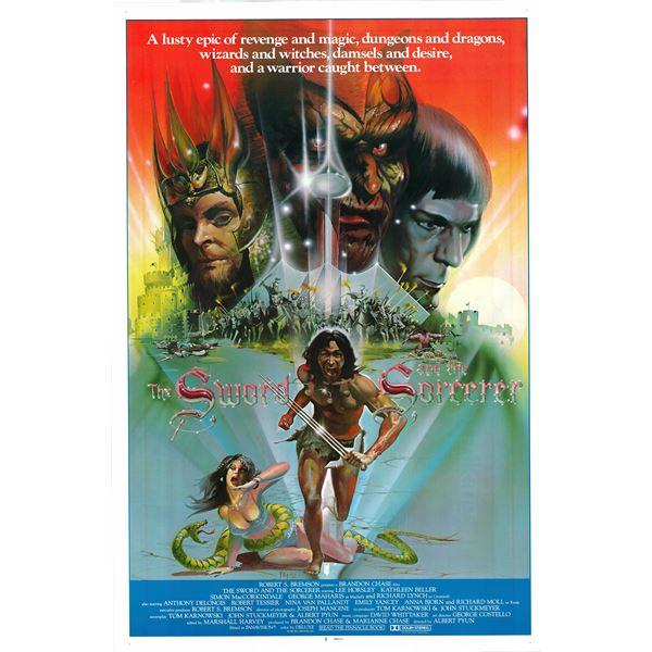 The Sword and the Sorcerer 1982 original vintage one sheet poster