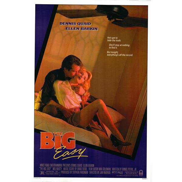 The Big Easy 1987 original vintage movie poster