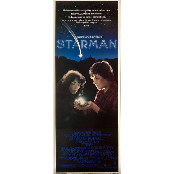 Starman 1984 original vintage insert card