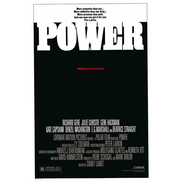 Power 1985 original vintage one sheet poster