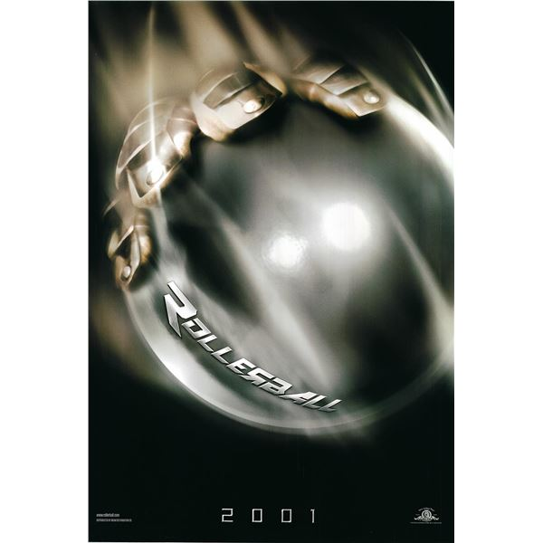 Rollerball 2001 original advance movie poster