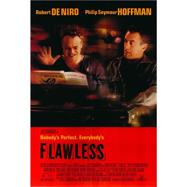 Flawless 1999 original one sheet movie poster