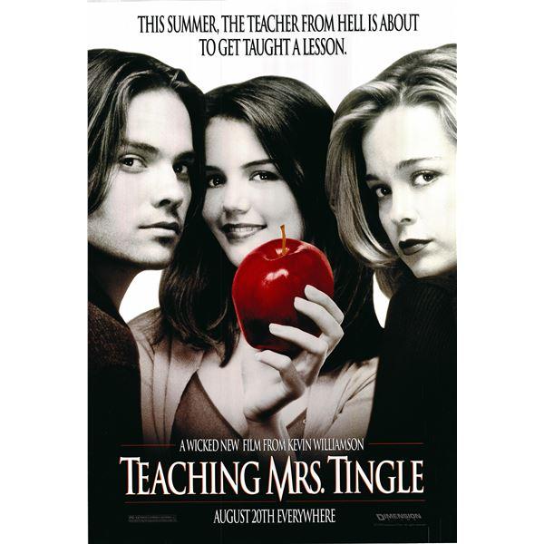 Teaching Mrs Tingle 1999 original movie poster