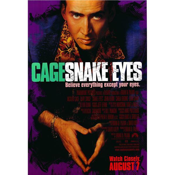 Snake Eyes 1998 original one sheet movie poster