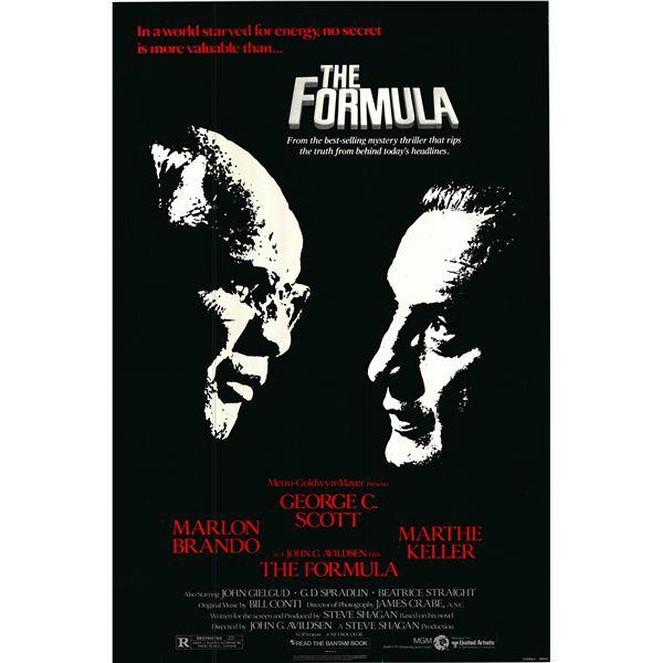 The Formula 1980 original vintage one sheet poster