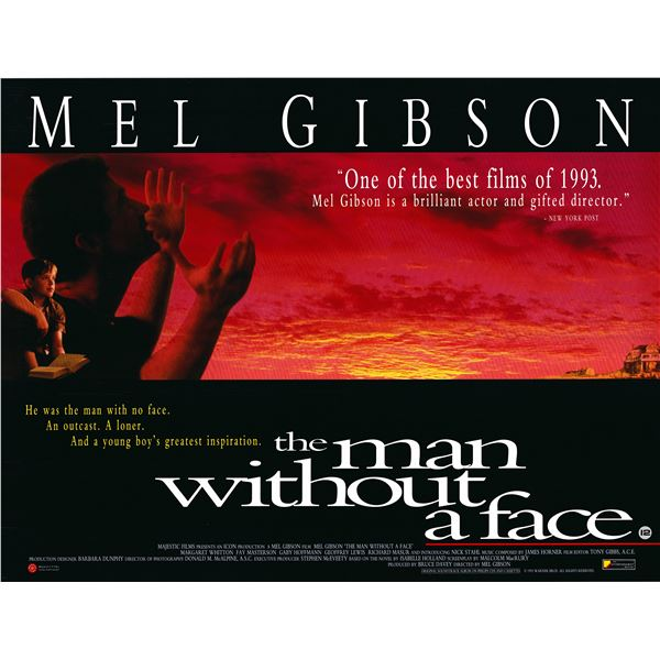 The Man Without A Face original one sheet poster