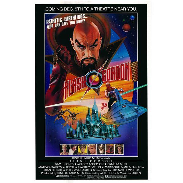 Flash Gordon 1980 original vintage one sheet poster
