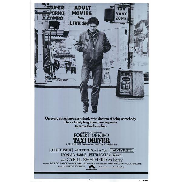 Taxi Driver 1976 original vintage movie poster
