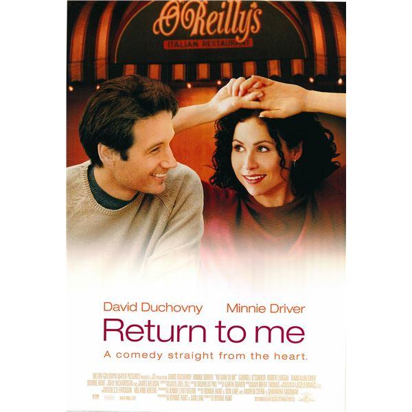 Return to Me 2000 original one sheet movie poster