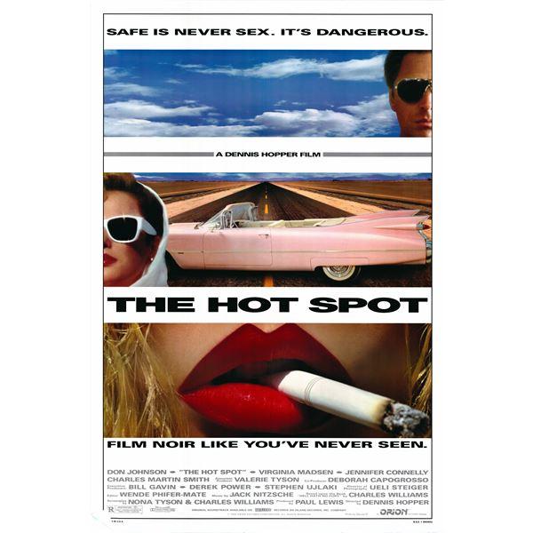 The Hot Spot 1990 original one sheet poster