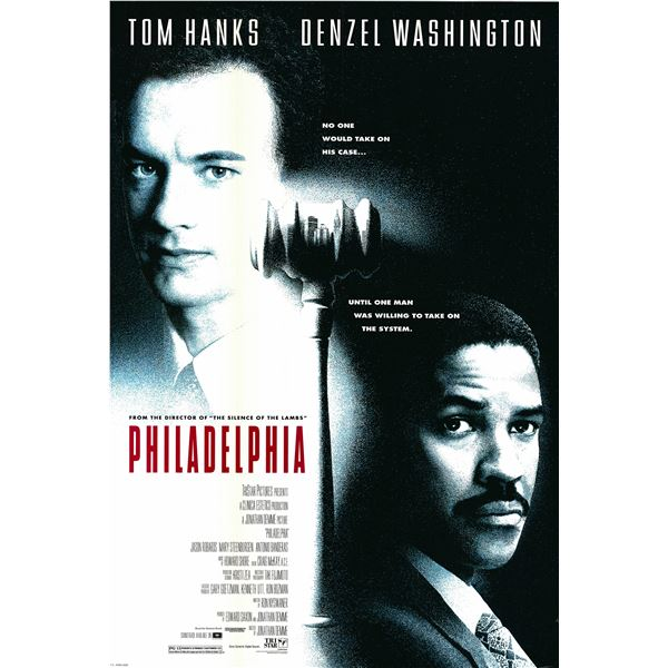 Philidelphia 1993 original movie poster