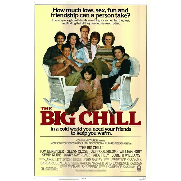 The Big Chill 1983 original vintage movie poster
