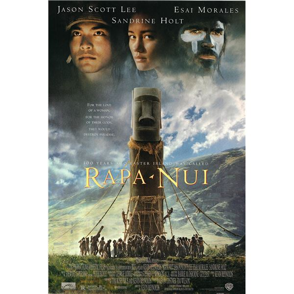 Rapa-Nui 1994 original one sheet movie poster