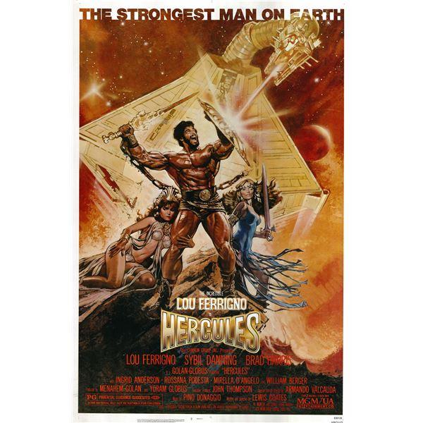 Hercules 1983 original vintage movie poster