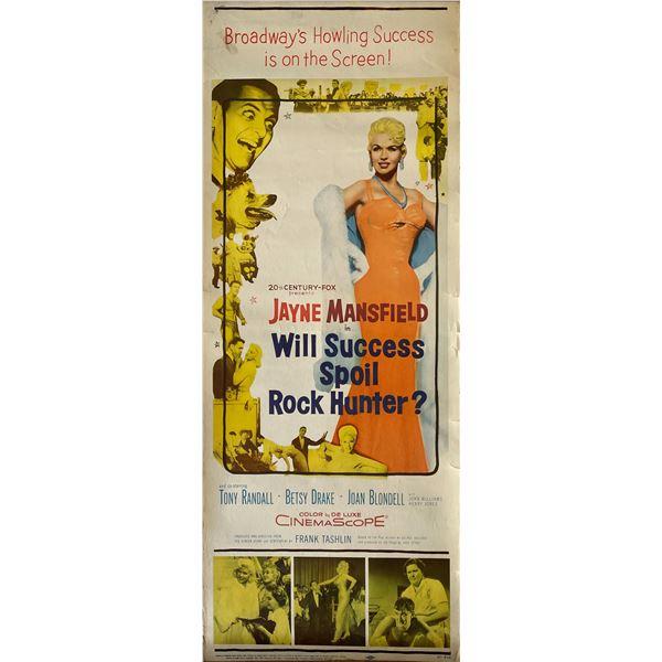 Will Success Spoil Rock Hunter? 1957 original vintage insert card