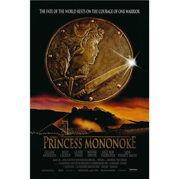 Princess Mononoke 1999 original one sheet movie poster