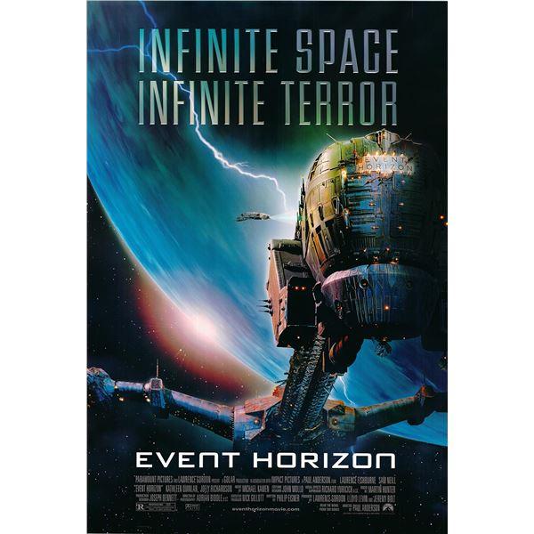 Event Horizon 1997 original one sheet movie poster