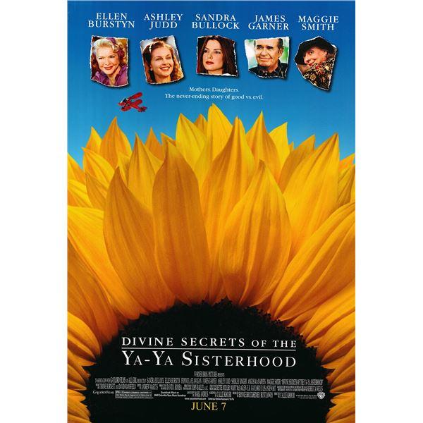 Divine Secrets of the Ya-Ya Sisterhood 2002 original one sheet movie poster