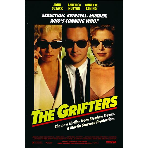 The Grifters 1990 original movie poster