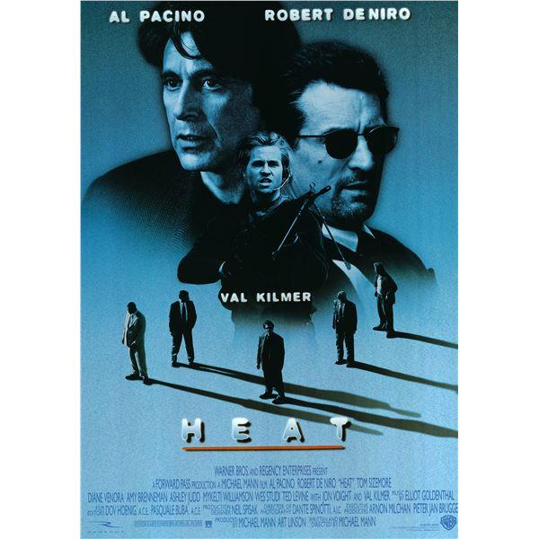 Heat 1995 original movie poster