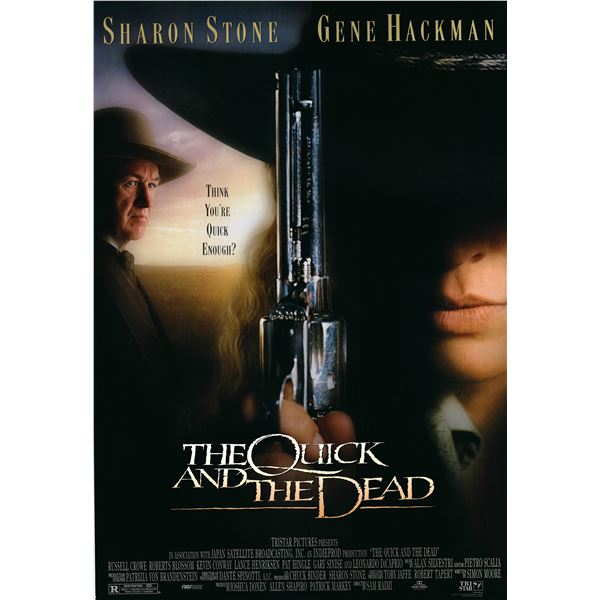 The Quick and the Dead 1995 original one sheet poster