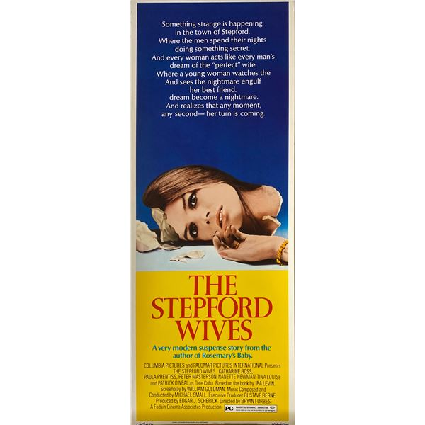 The Stepford Wives 1975 original vintage insert card