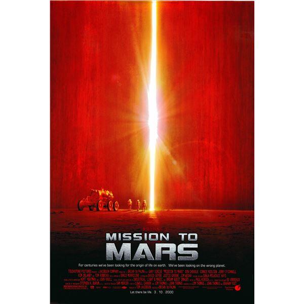 Mission to Mars 2000 original movie poster