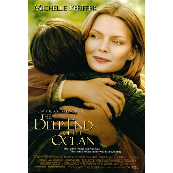 The Deep End of the Ocean 1999 original one sheet movie poster