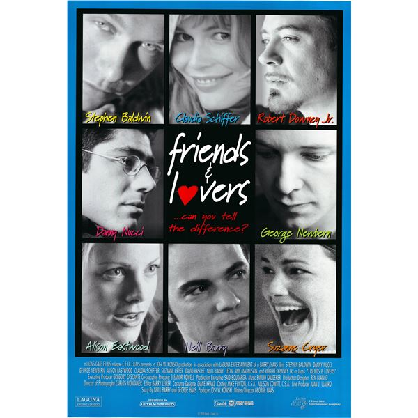 Friends & Lovers 1999 original movie poster
