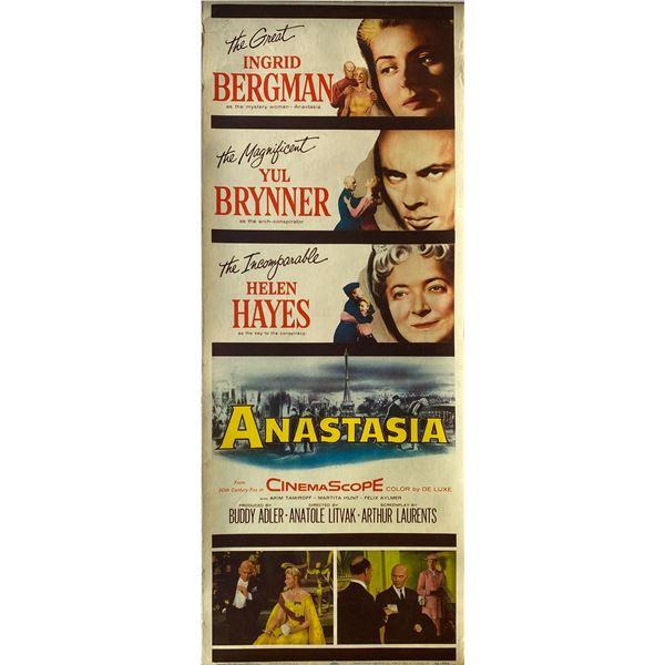 Anastasia 1956 original vintage insert card