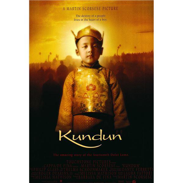 Kundun 1997 original one sheet movie poster