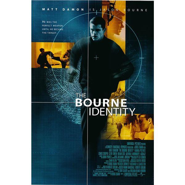 The Bourne Identity 2002 original advance movie poster