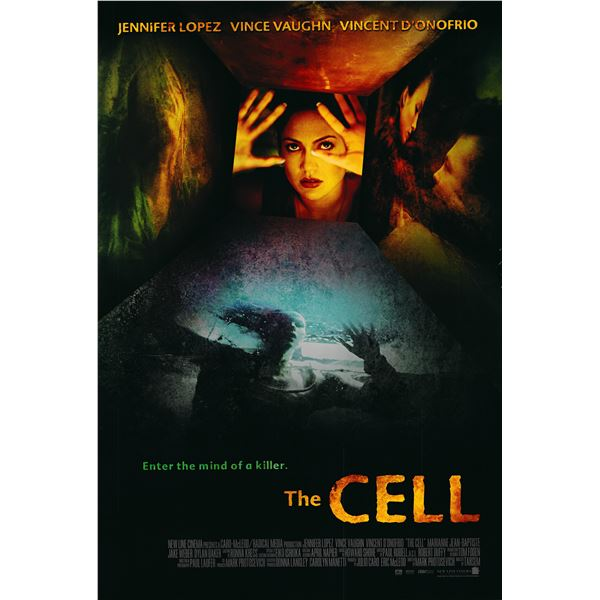The Cell 2000 original movie poster