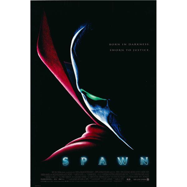 Spawn 1997 original one sheet movie poster
