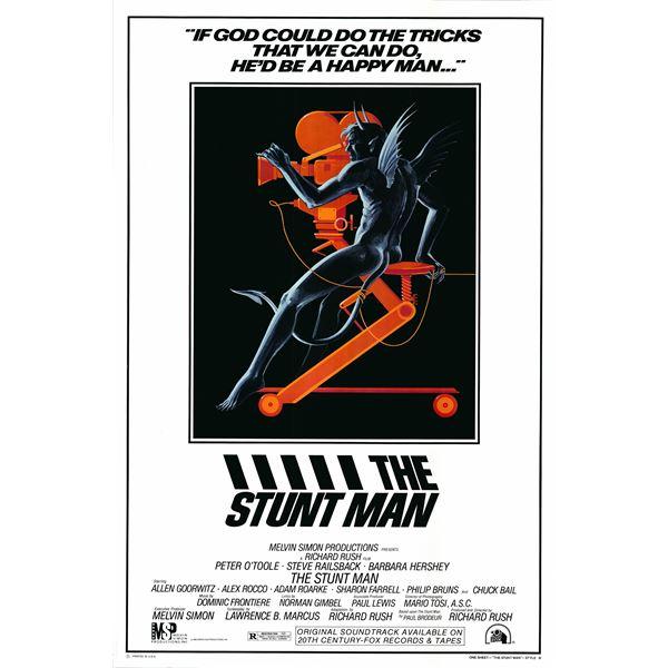 The Stunt Man 1980 original vintage movie poster