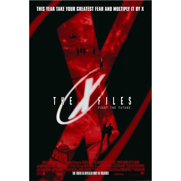 X-Files 1998 original movie poster