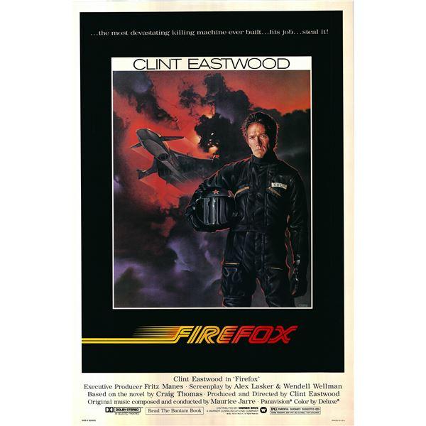 Firefox 1982 original vintage movie poster