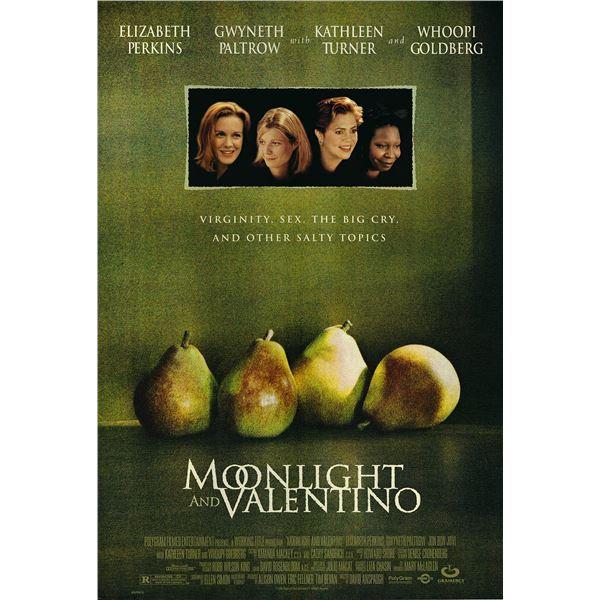 Moonlight and Valentino 1995 original one sheet movie poster