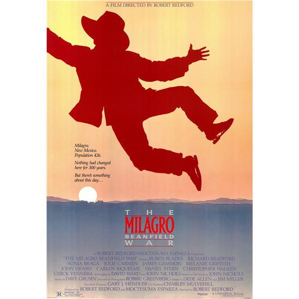 The Milagro Beanfield War 1988 original vintage movie poster