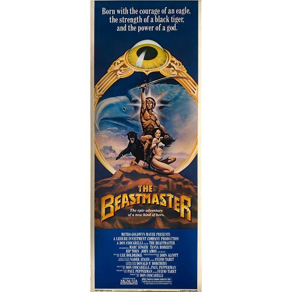 The Beastmaster 1982 original vintage insert card