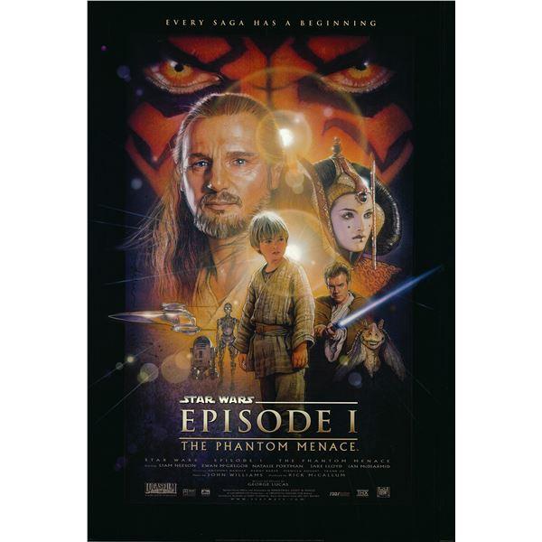 Star Wars: Episode I – The Phantom Menace 1999 original movie poster